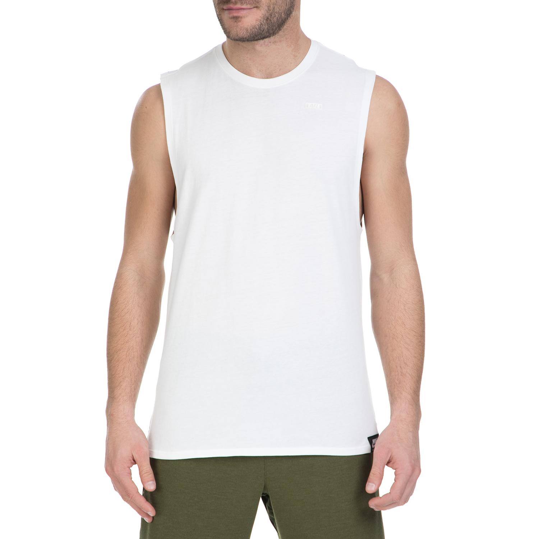 NIKE - Αμάνικη μπλούζα Nike λευκή με αστεράκια ανδρικά ρούχα αθλητικά t shirt
