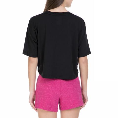 NIKE-Γυναικεία κοντή μπλούζα Nike μαύρη