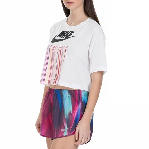 3752de41e28d Γυναικεία κοντή μπλούζα Nike λευκή (1539941.1-9373)