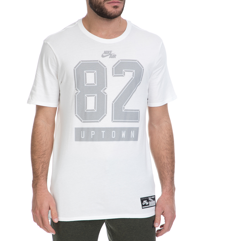 NIKE - Ανδρικό T-shirt NIKE AIR TEE 3 λευκό ανδρικά ρούχα αθλητικά t shirt