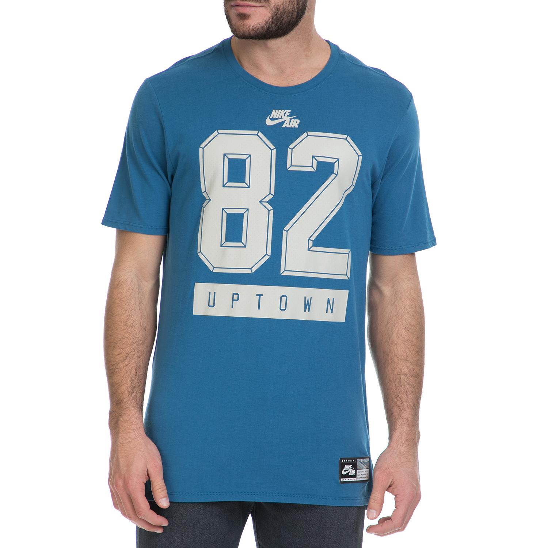 NIKE - Ανδρικό T-shirt NIKE AIR TEE 3 μπλε ανδρικά ρούχα αθλητικά t shirt