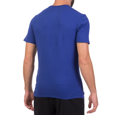 NIKE-Ανδρική κοντομάκινη μπλούζα ποδοσφαίρου NIKE FC Barcelona μπλε