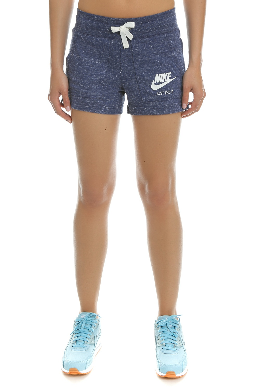 NIKE - Γυναικείο σορτς Nike GYM VNTG μπλε γυναικεία ρούχα σορτς βερμούδες αθλητικά