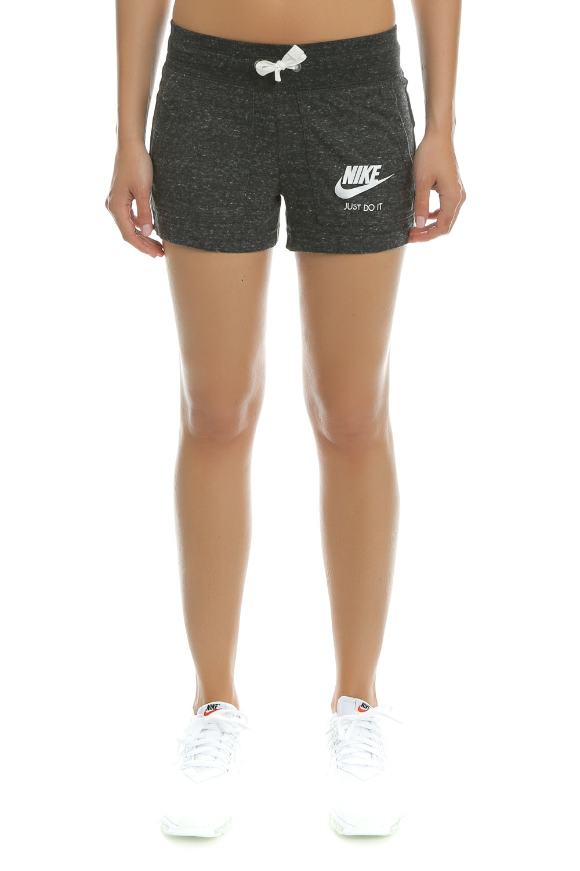 NIKE - Γυναικείο σορτς Nike GYM VNTG γκρι γυναικεία ρούχα σορτς βερμούδες αθλητικά