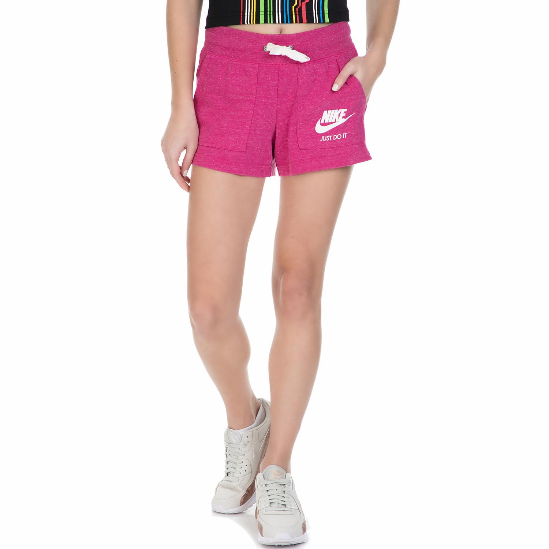NIKE - Γυναικείο σορτς Nike GYM VNTG φούξια γυναικεία ρούχα σορτς βερμούδες αθλητικά