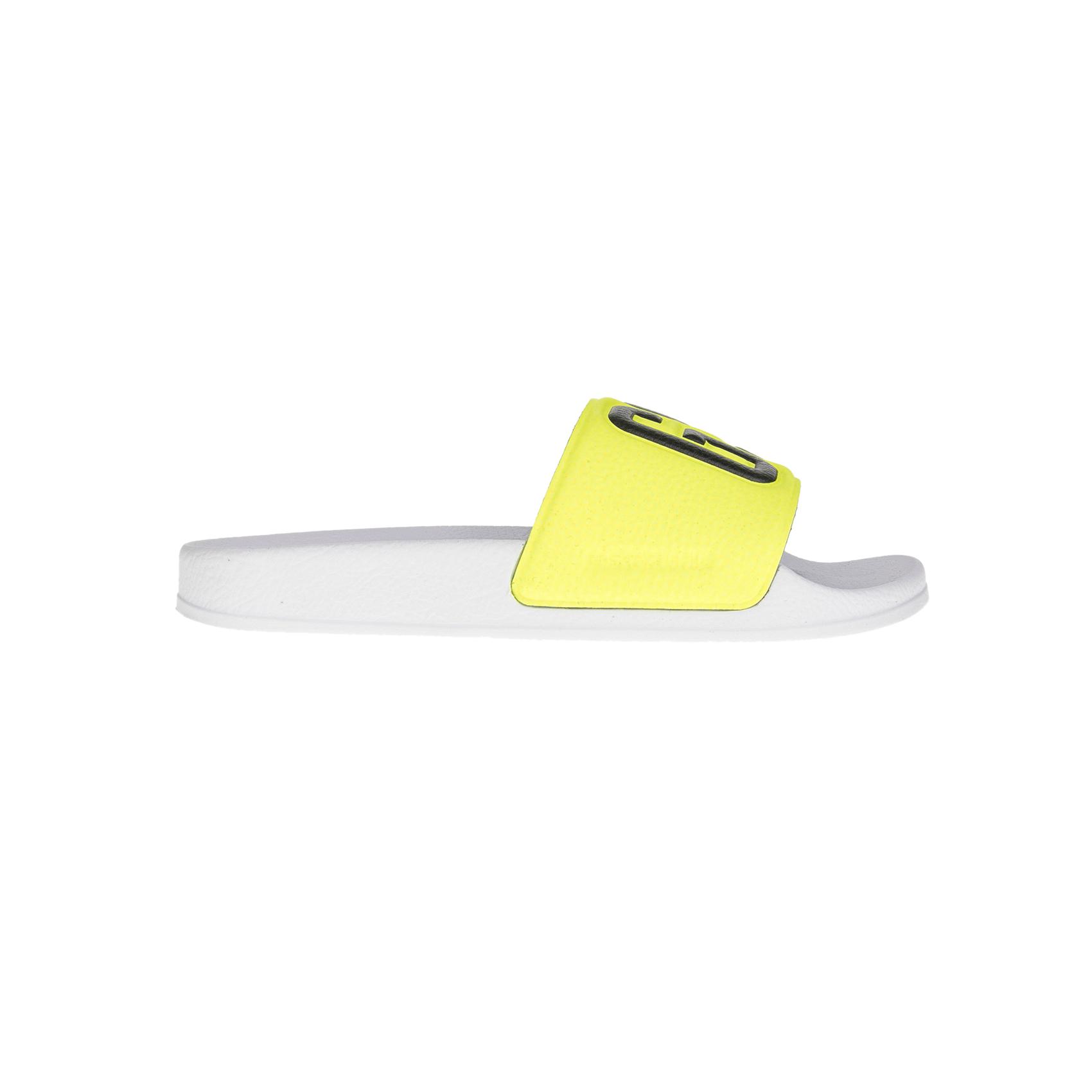 G-STAR RAW - Γυναικεία sliders G-STAR RAW λευκά-κίτρινα γυναικεία παπούτσια παντόφλες