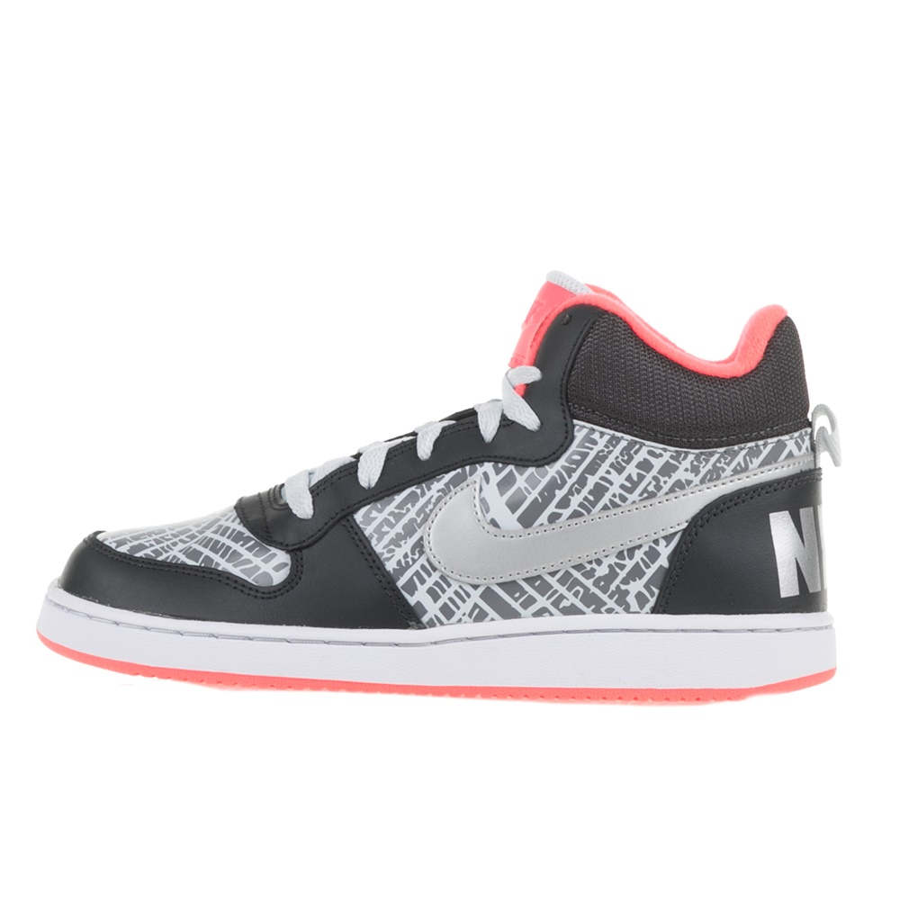 NIKE – Κοριτσίστικα sneakers NIKE COURT BOROUGH MID PRNT (GS) ανθρακί