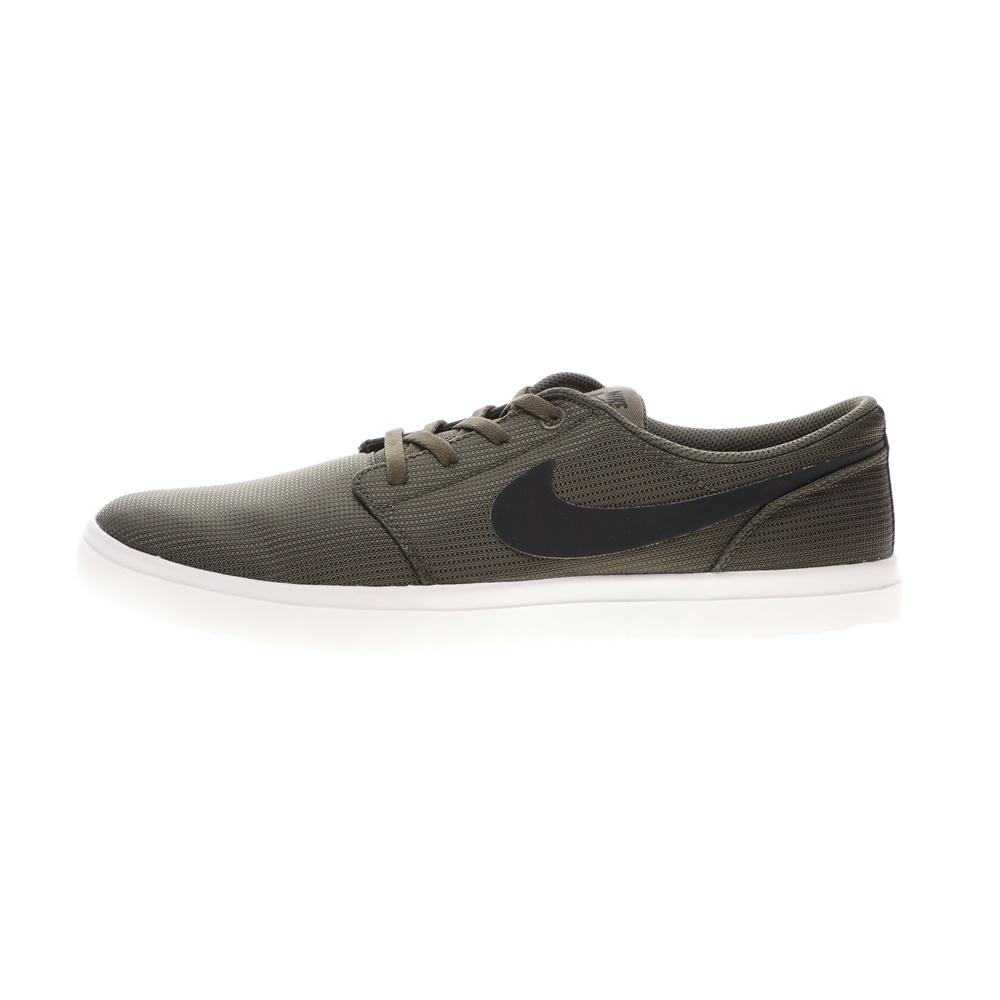 NIKE – Ανδρικά αθλητικά παπούτσια NIKE SB PORTMORE II ULTRALIGHT λαδί