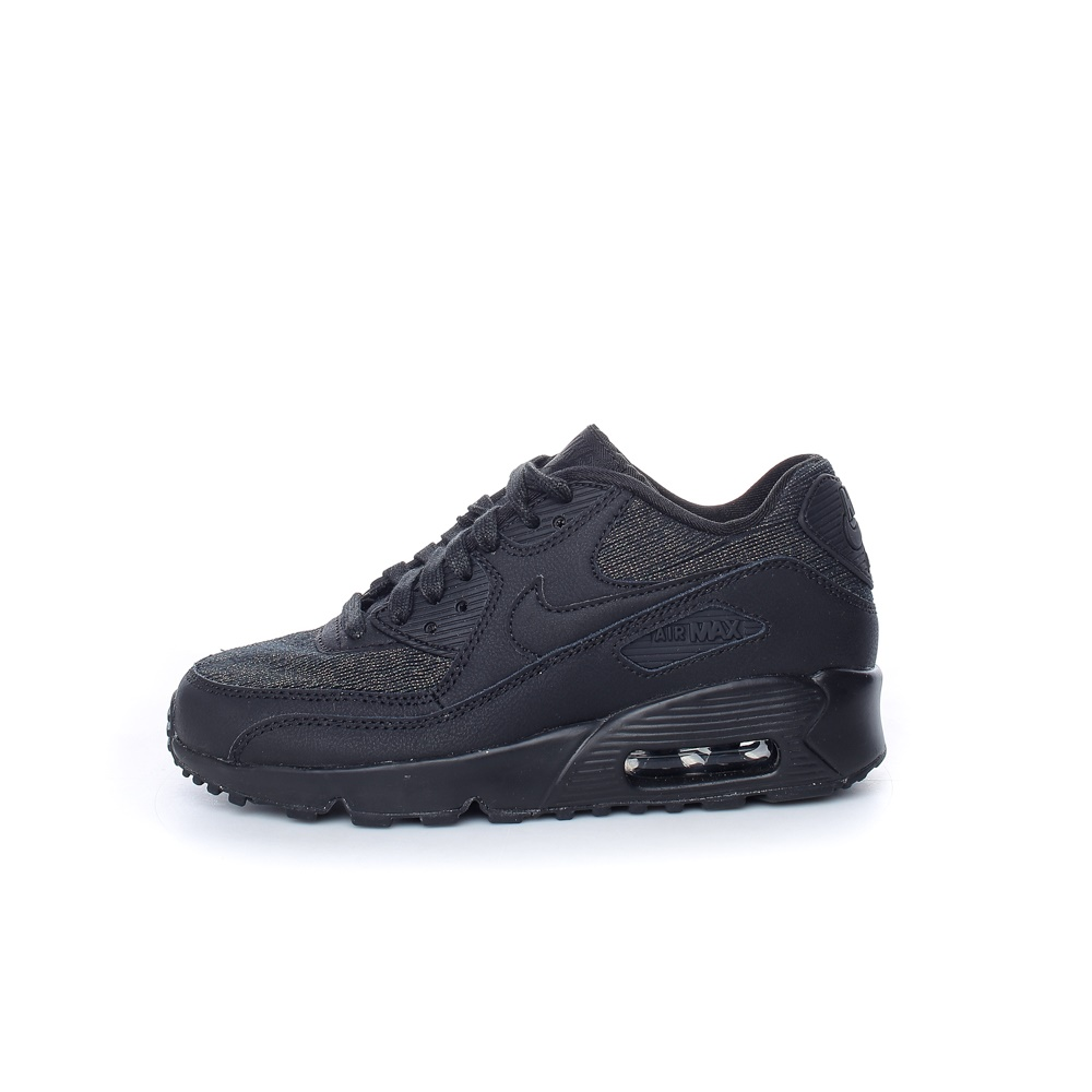 NIKE – Παιδικά παπούτσια NIKE AIR MAX 90 SE MESH (GS) μαύρα