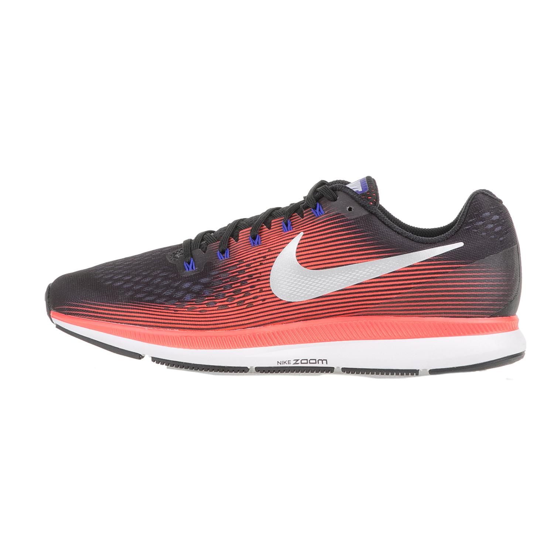 NIKE - Ανδρικά αθλητικά παπούτσια NIKE AIR ZOOM PEGASUS 34 μαύρα-κόκκινα ανδρικά παπούτσια αθλητικά running