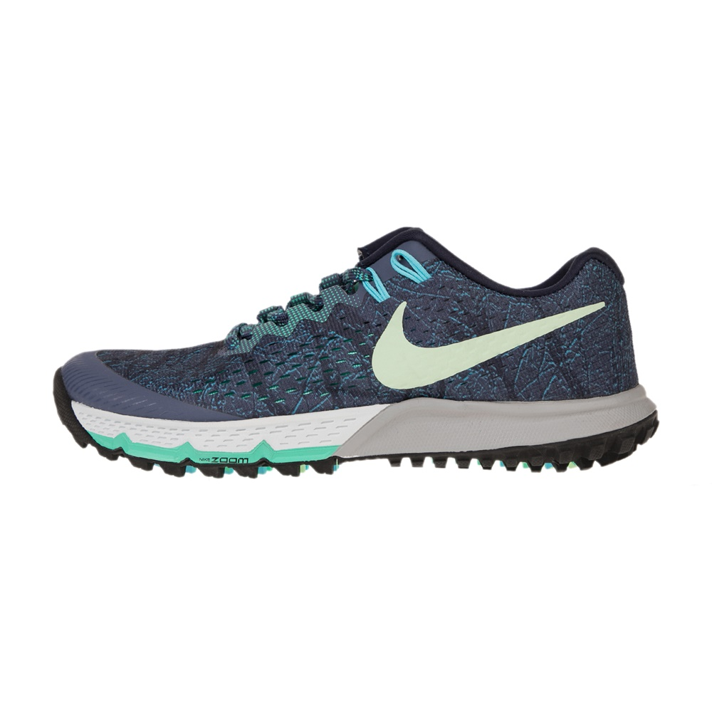 NIKE – Γυναικεία παπούτσια NIKE AIR ZOOM TERRA KIGER 4 μπλε πράσινα