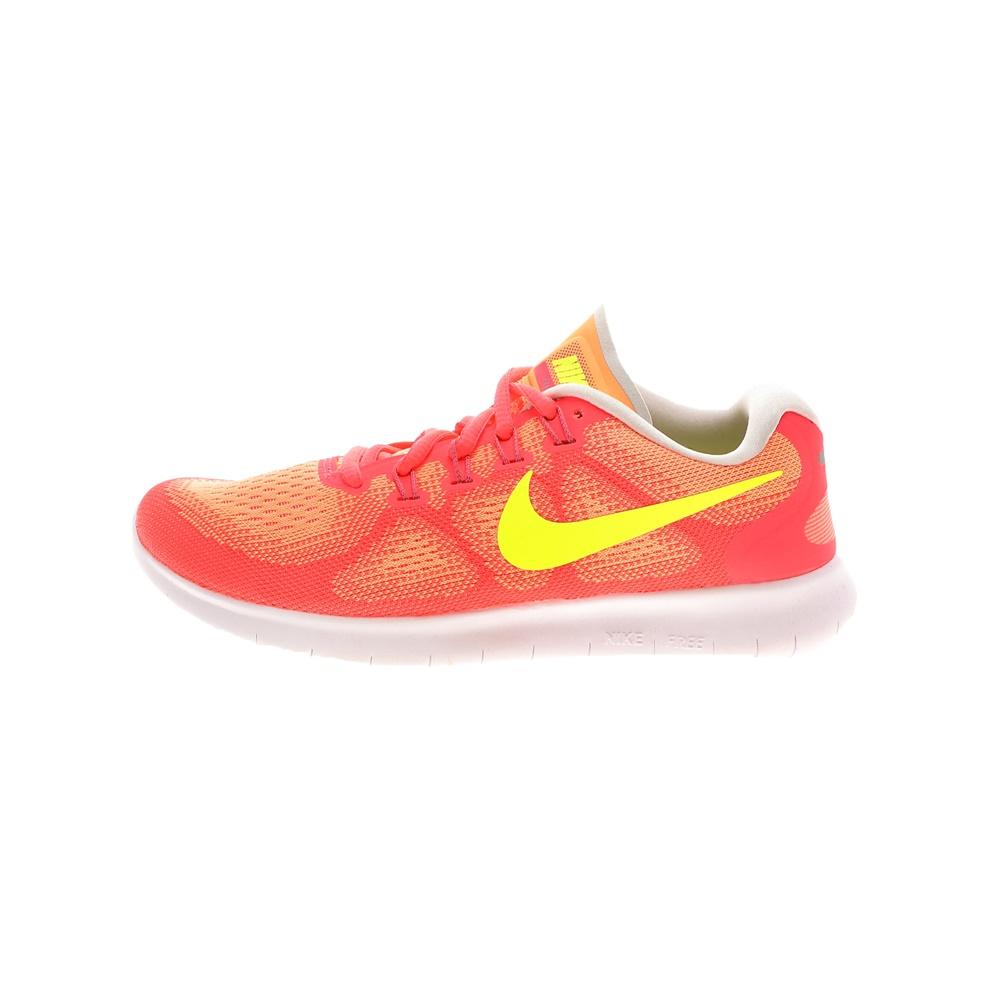 NIKE – Γυναικεία παπούτσια running NIKE FREE RN 2017 πορτοκαλί