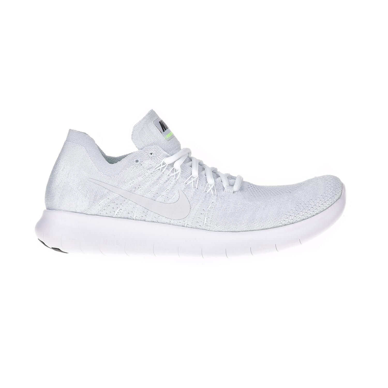 NIKE – Ανδρικά παπούτσια για τρέξιμο NIKE FREE RN FLYKNIT 2017 λευκά