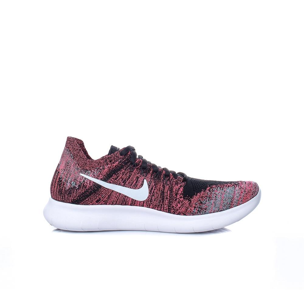 NIKE – Γυναικεία αθλητικά παπούτσια Nike FREE RN FLYKNIT 2017 κόκκινα 8427d9d83c6
