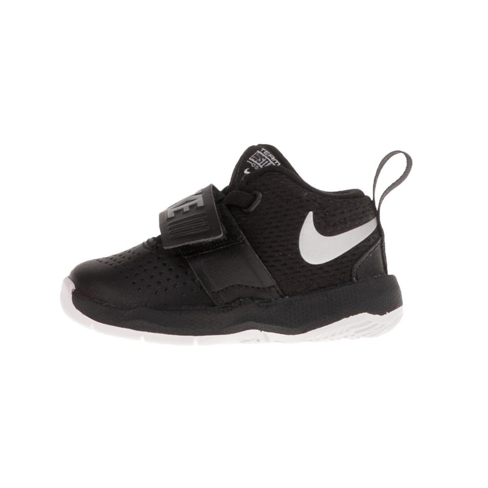 NIKE – Βρεφικά παπούτσια NIKE TEAM HUSTLE D 8 (TD) μαύρα