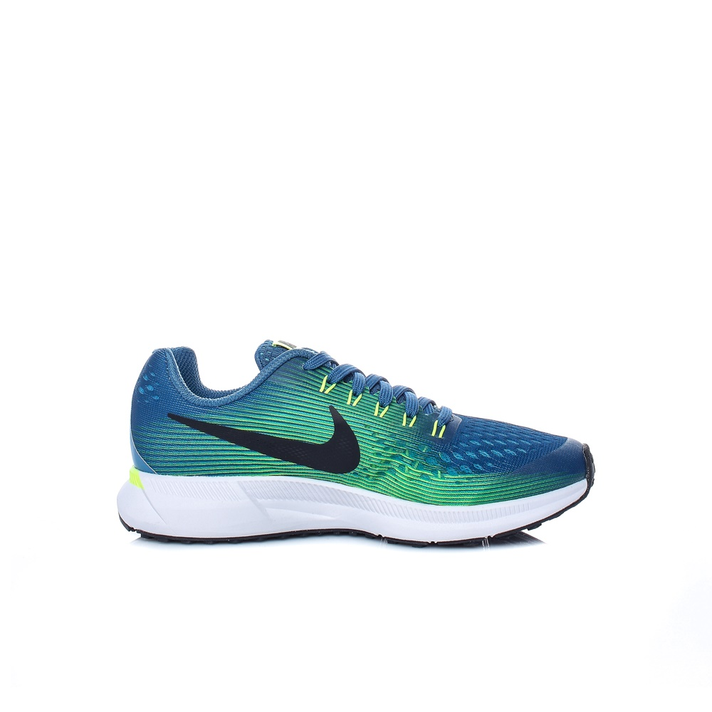 NIKE – Παιδικά αθλητικά παπούτσια Nike ZOOM PEGASUS 34 (GS) μπλε – πράσινα