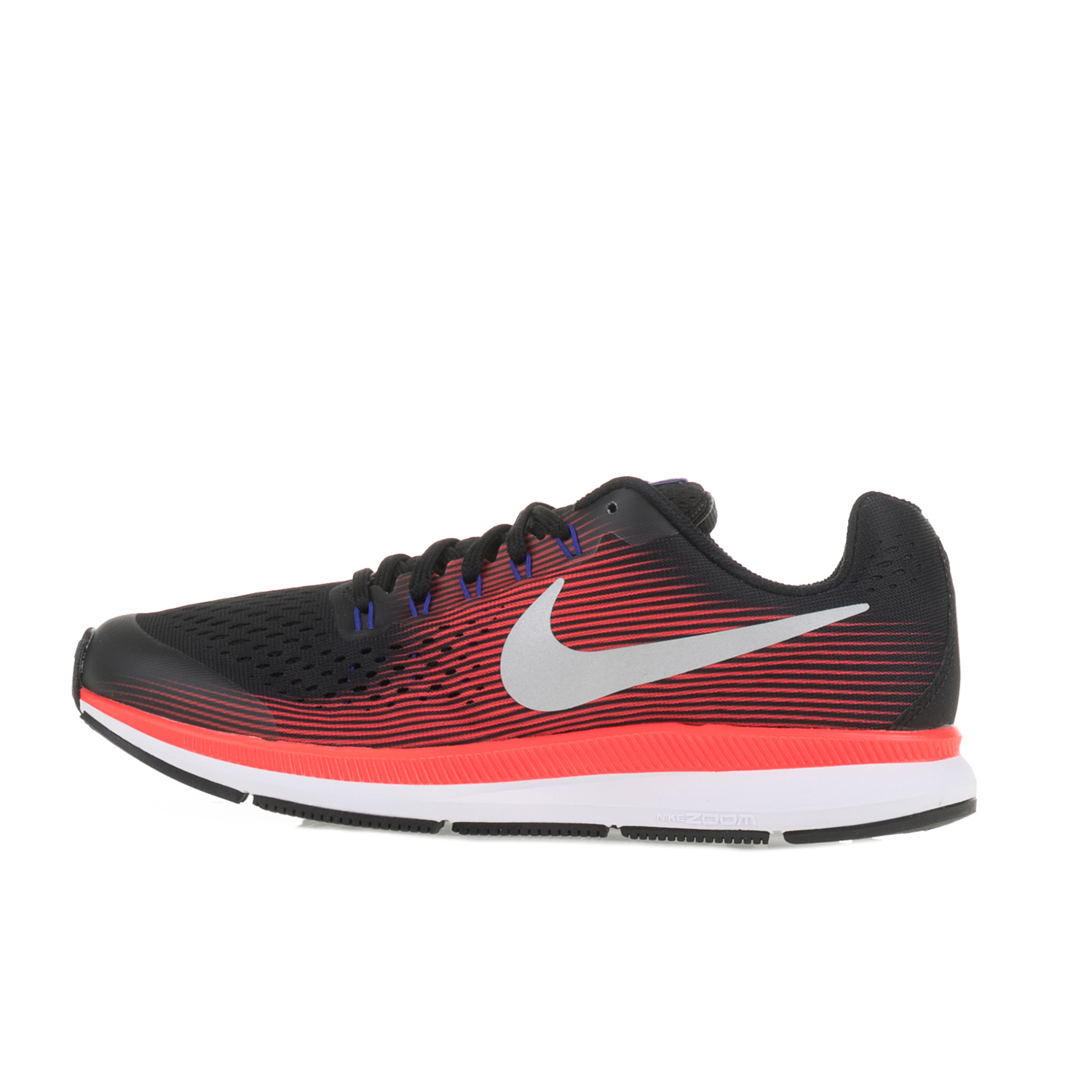 4058634b6f -44% Factory Outlet NIKE – Παιδικά αθλητικά παπούτσια Nike ZOOM PEGASUS 34  (GS) μαύρα-κόκκινα