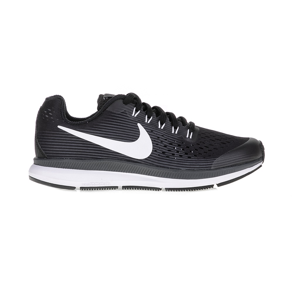 d18bc5b3c60 NIKE – Παιδικά αθλητικά παπούτσια NIKE ZOOM PEGASUS 34 (GS) μαύρα.  Factoryoutlet
