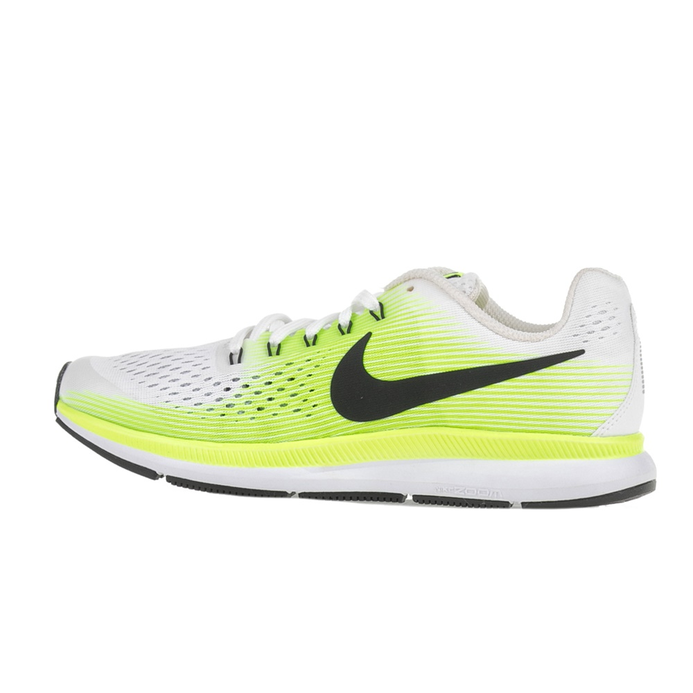 1501386d5d6 NIKE – Παιδικά αθλητικά παπούτσια Nike ZOOM PEGASUS 34 (GS) λευκά-κίτρινα