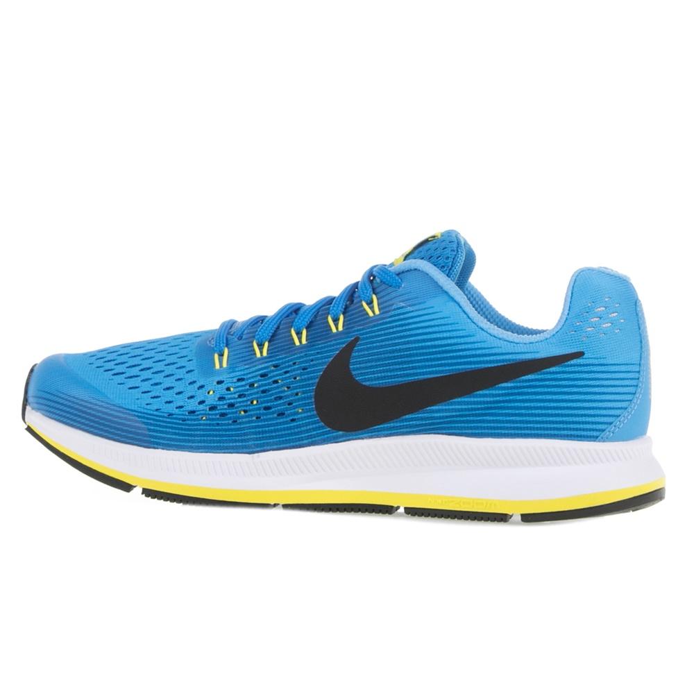 NIKE – Κοριτσίστικα αθλητικά παπούτσια Nike Zoom Pegasus 34 (GS) μπλε
