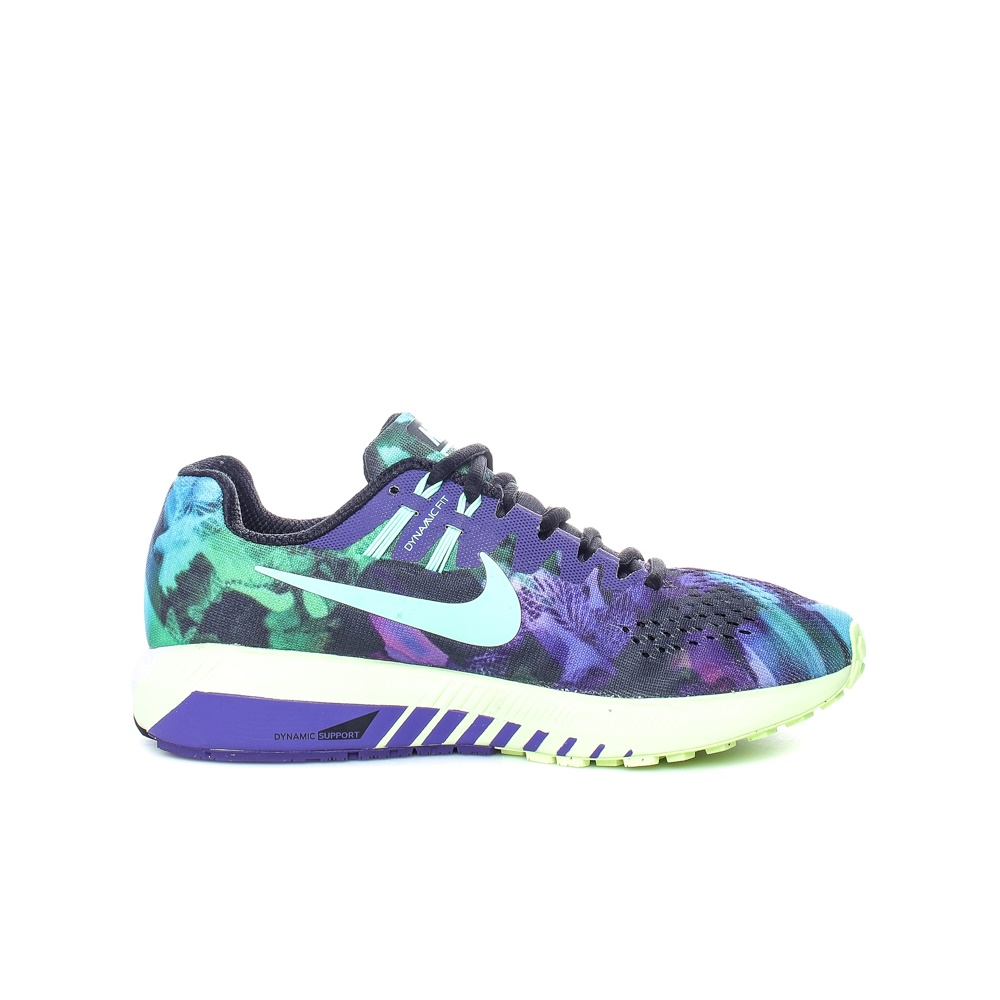 NIKE – Γυναικεία αθλητικά παπούτσια Nike AIR ZM STRUCTURE 20 SOLSTICE μοβ – πράσινα