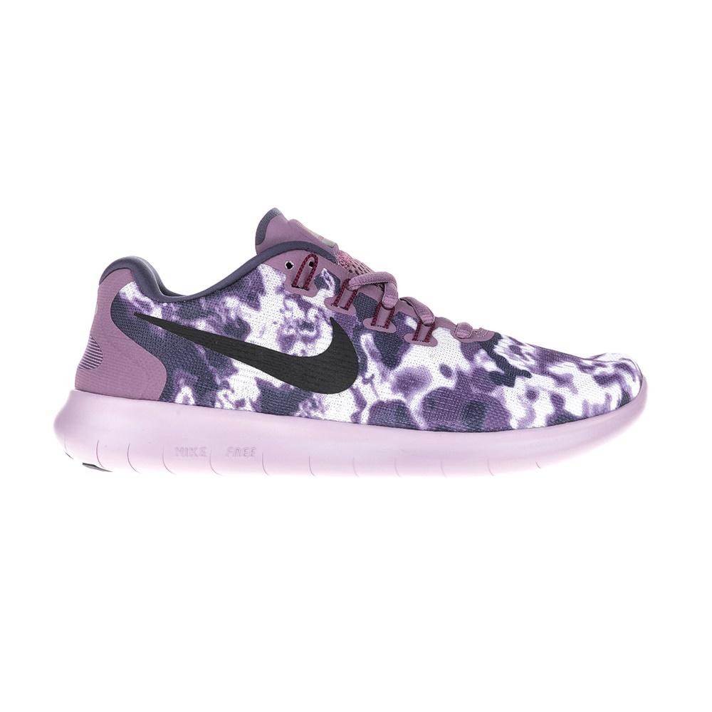 NIKE - Γυναικεία αθλητικά παπούτσια NIKE FREE RN 2 LE μοβ-λευκά γυναικεία παπούτσια αθλητικά running