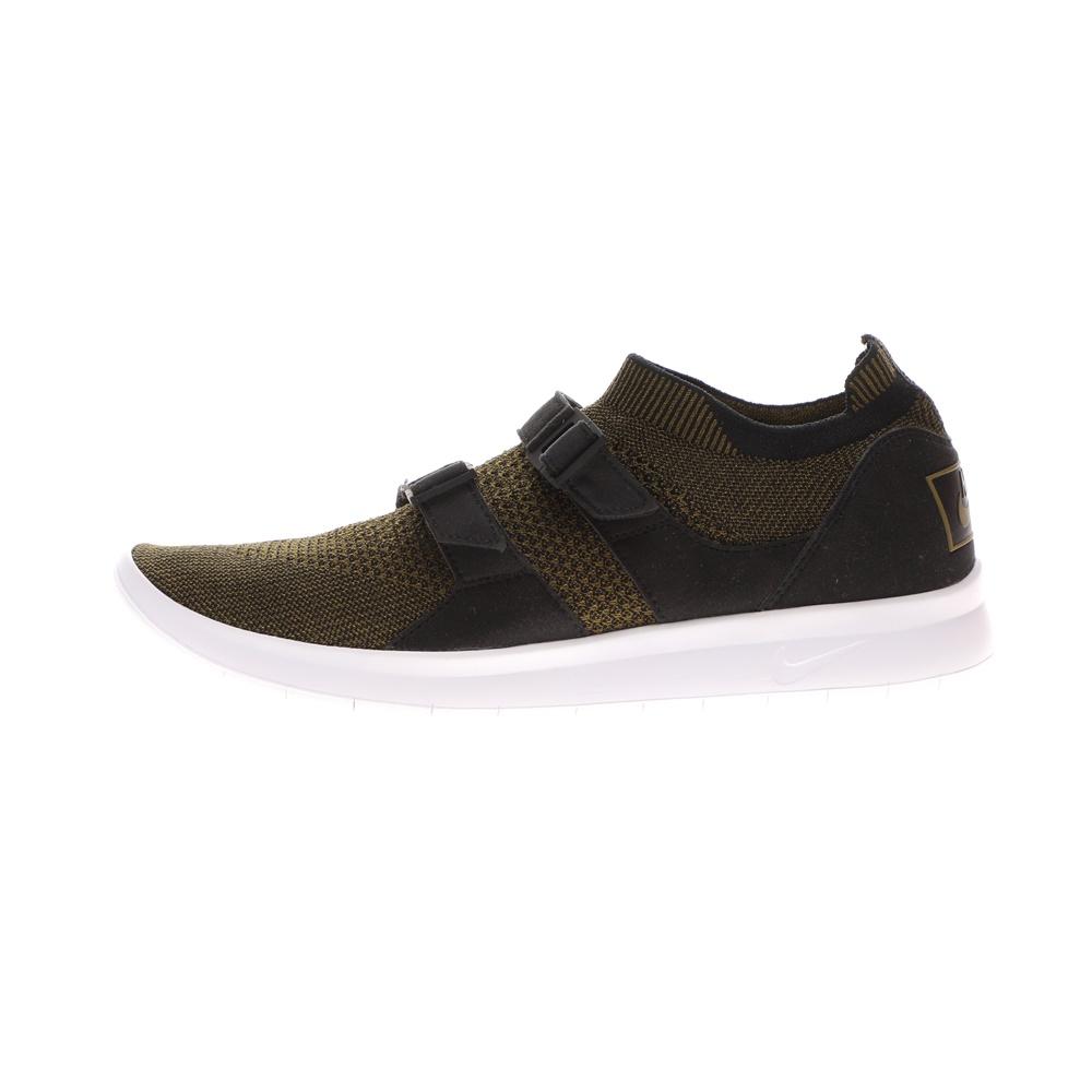 NIKE – Ανδρικά παπούτσια running NIKE AIR SOCKRACER FLYKNIT λαδί μαύρα