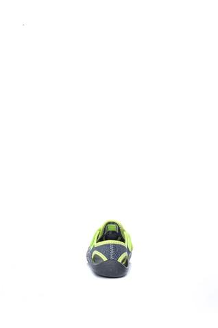 NIKE-Αγορίστικα σανδάλια NIKE SUNRAY PROTECT (TD) γκρι-κίτρινα