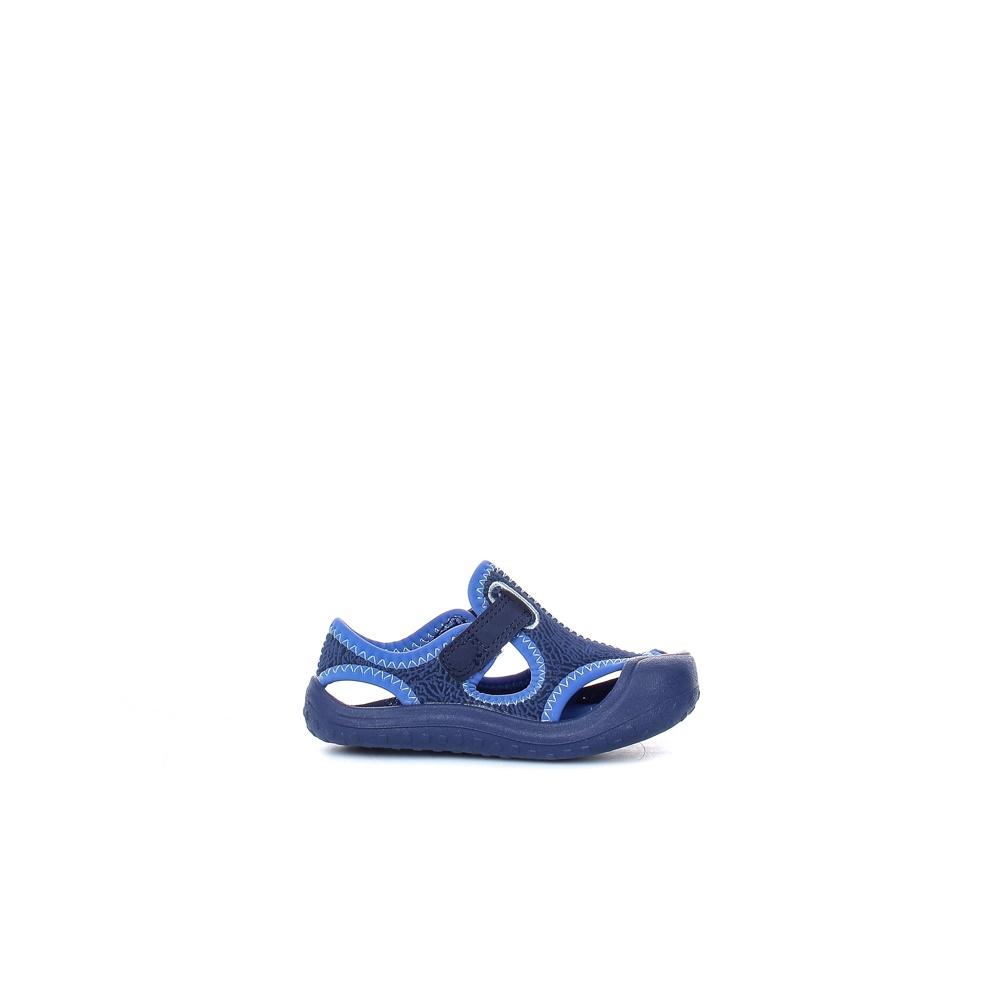 NIKE – Βρεφικά σανδάλια NIKE SUNRAY PROTECT (TD) μπλε