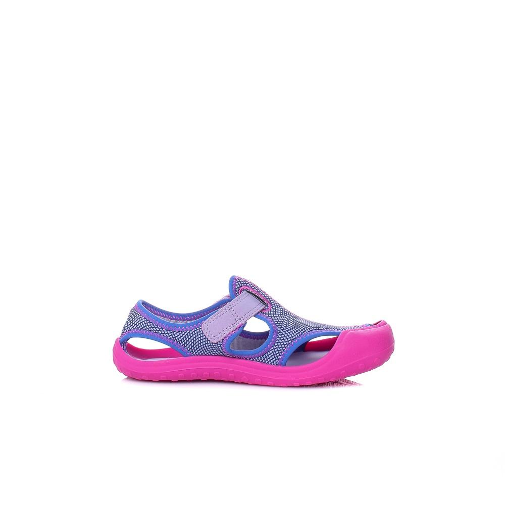 NIKE – Παιδικά κοριτίστικα πέδιλα Nike SUNRAY PROTECT (PS) μοβ-ροζ