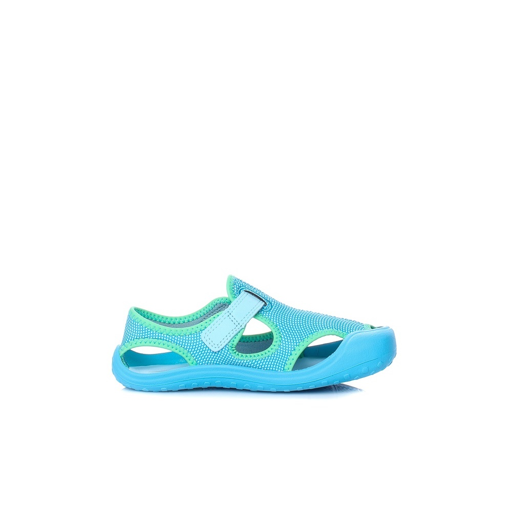bd55a4f4697 NIKE - Παιδικά κοριτσίστικα πέδιλα Nike SUNRAY PROTECT (PS) γαλάζια ...