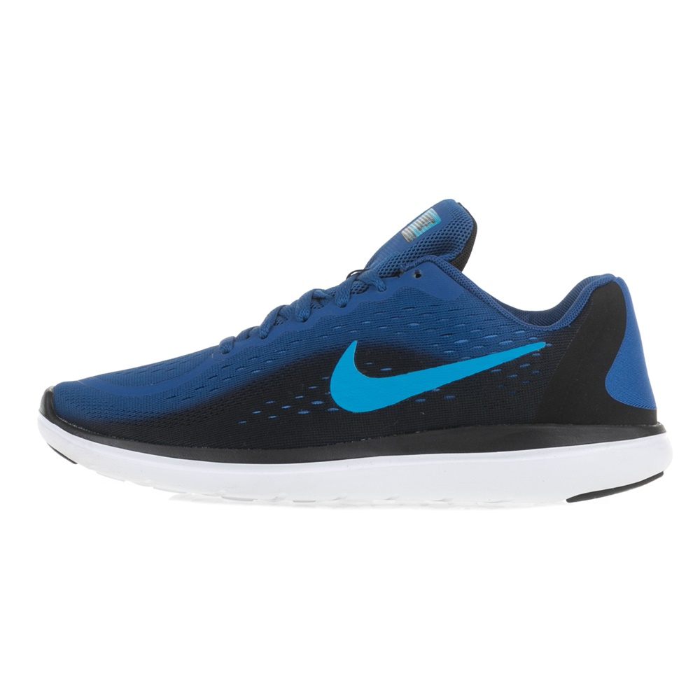 NIKE – Αγοριστικά αθλητικά παπούτσια NIKE FLEX 2017 RN (GS) μπλε