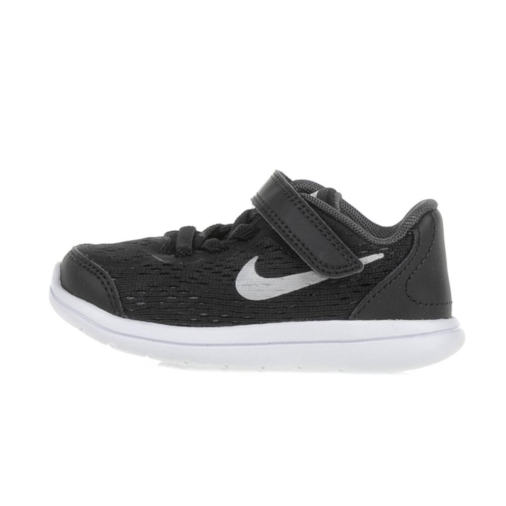 NIKE – Βρεφικά αθλητικά παπούτσια NIKE FLEX 2017 RN (TDV) μαύρα
