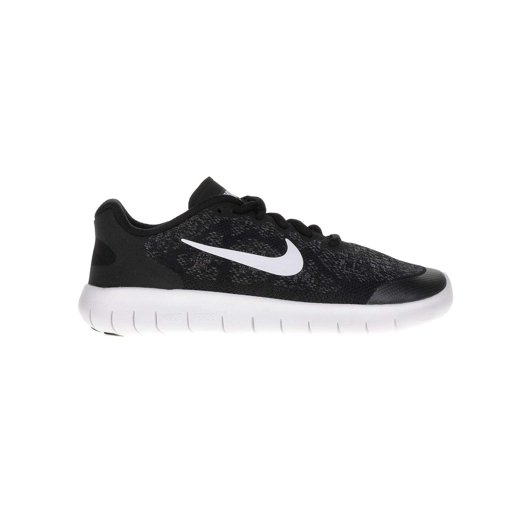 NIKE – Αγορίστικα παπούτσια NIKE FREE RN 2017 (GS) μαύρα