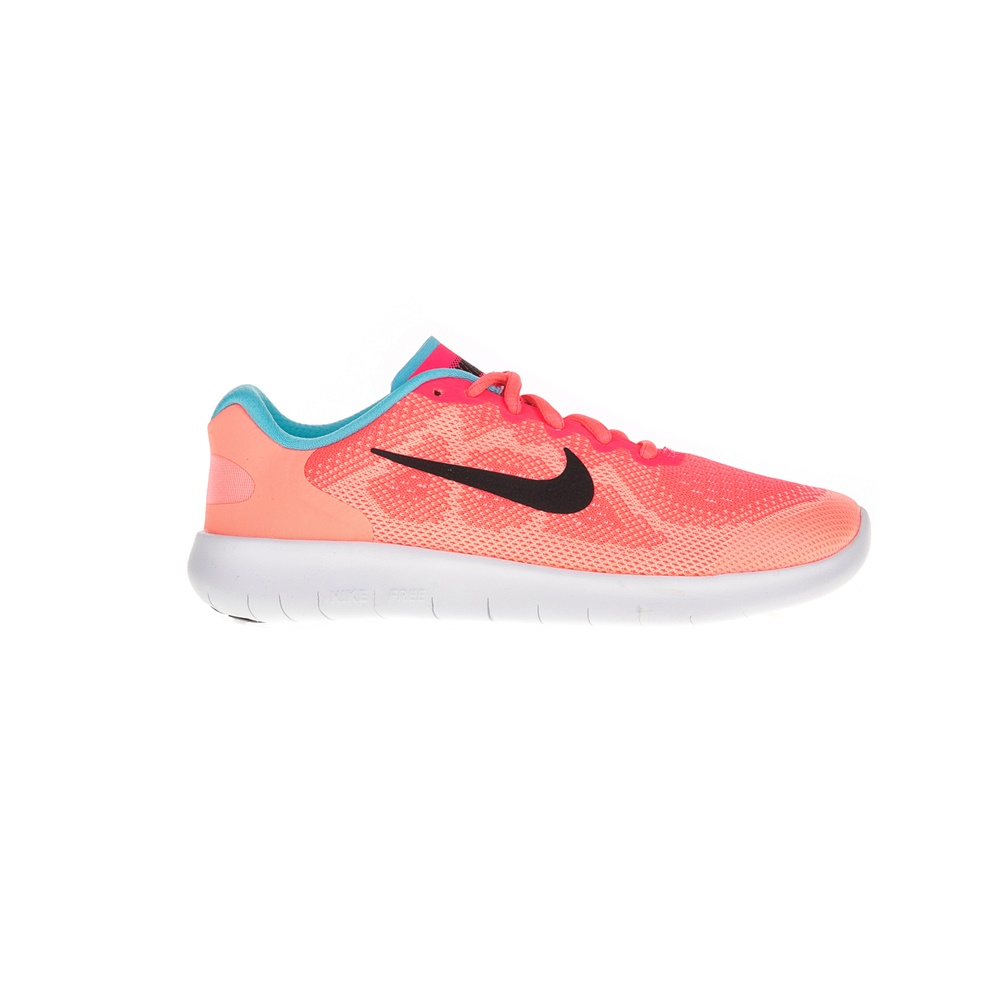 NIKE – Κοριτσίστικα παπούτσια NIKE FREE RN 2017 πορτοκαλί