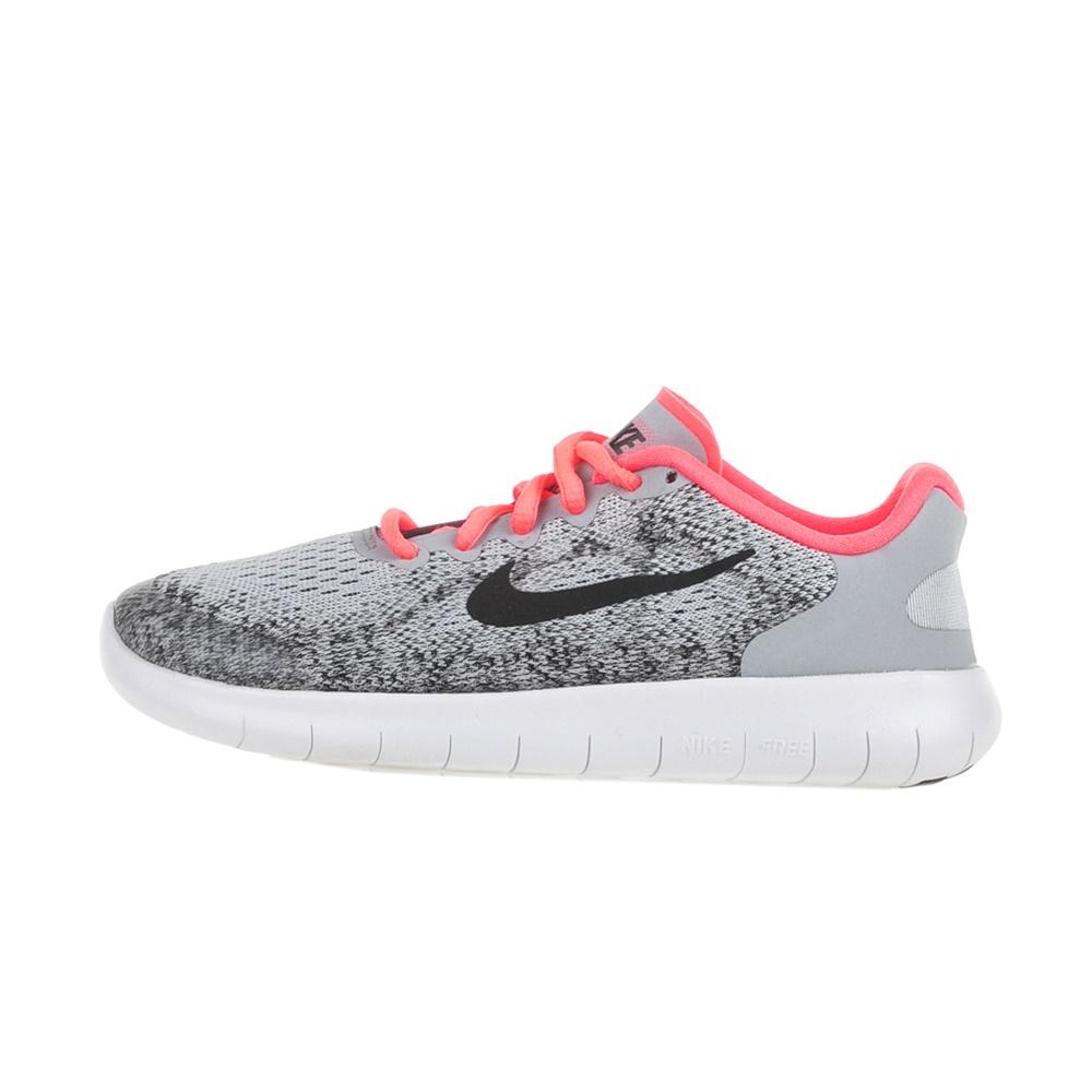 NIKE – Κοριτσίστικα αθλητικά παπούτσια NIKE FREE RN 2017(GS) γκρι-μαύρα