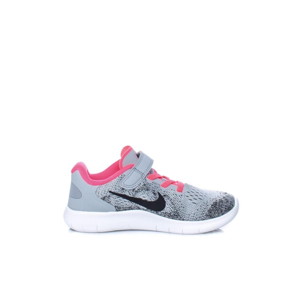 NIKE – Παιδικά αθλητικά παπούτσια Nike FREE RN 2017 (PSV) γκρι-μαύρα