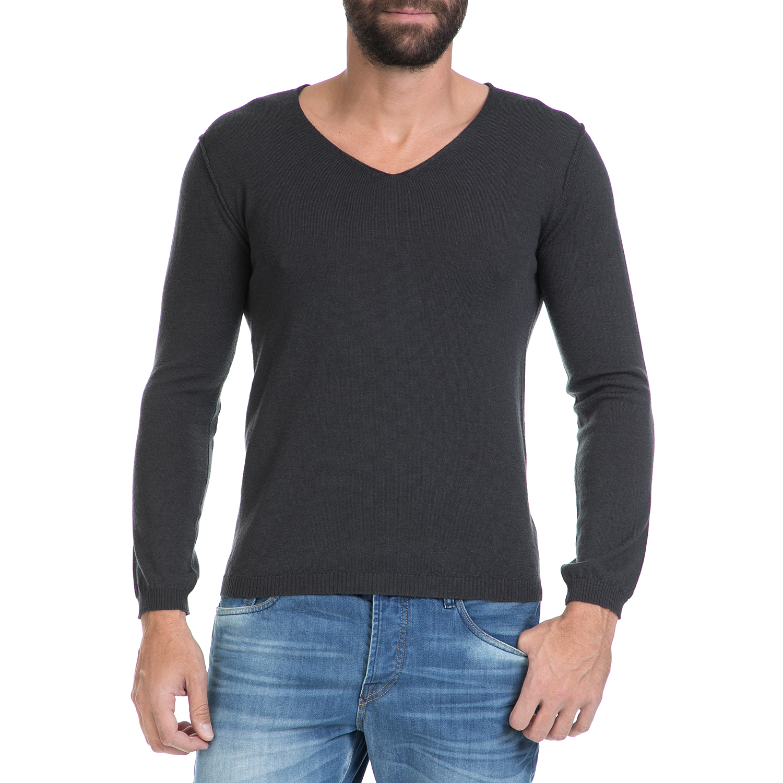 3f25e013c901 HAMAKI - Ανδρική μπλούζα SCOLLO V ΗΑΜΑΚΙ γκρι