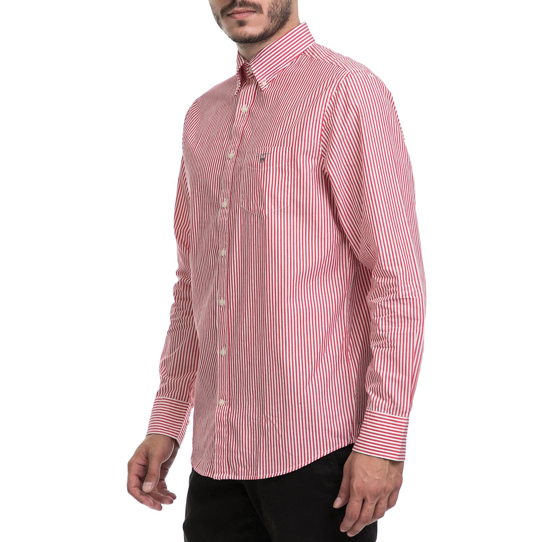 f0bba86ae1e7 GANT - Ανδρικό πουκάμισο GANT κόκκινο-λευκό