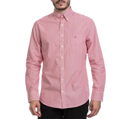 d3526c51e520 Ανδρικό πουκάμισο GANT κόκκινο-λευκό (1541258.0-0158)