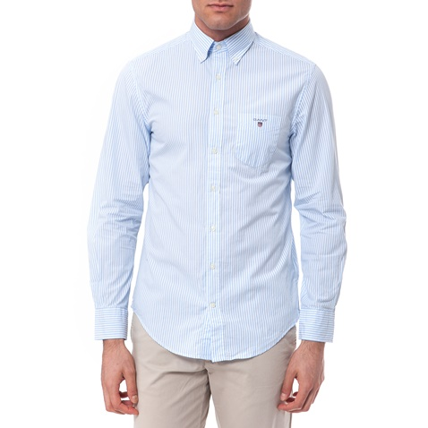 c586b6d634ac Πουκάμισο Gant λευκό-γαλάζιο (1541258.0-0617)