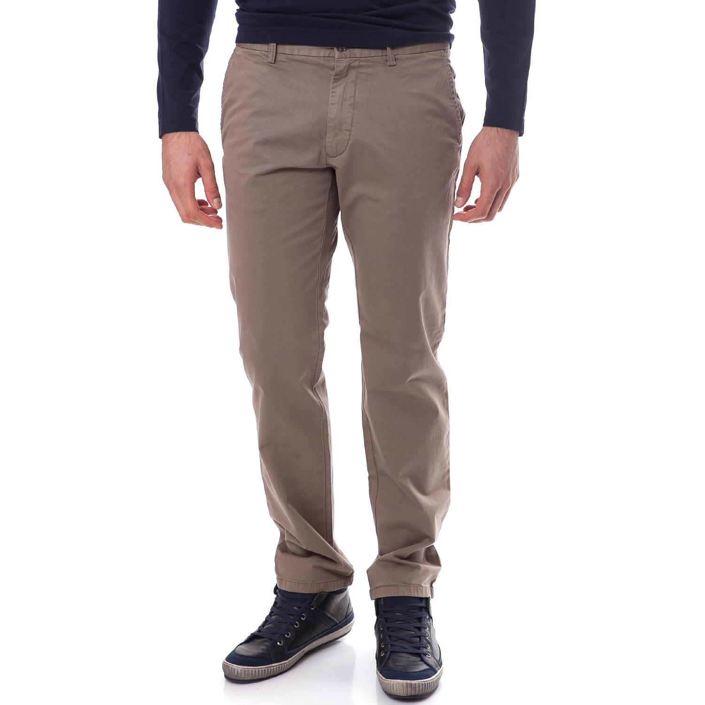 GANT - Ανδρικό παντελόνι Gant μπεζ-χακί ανδρικά ρούχα παντελόνια cargo