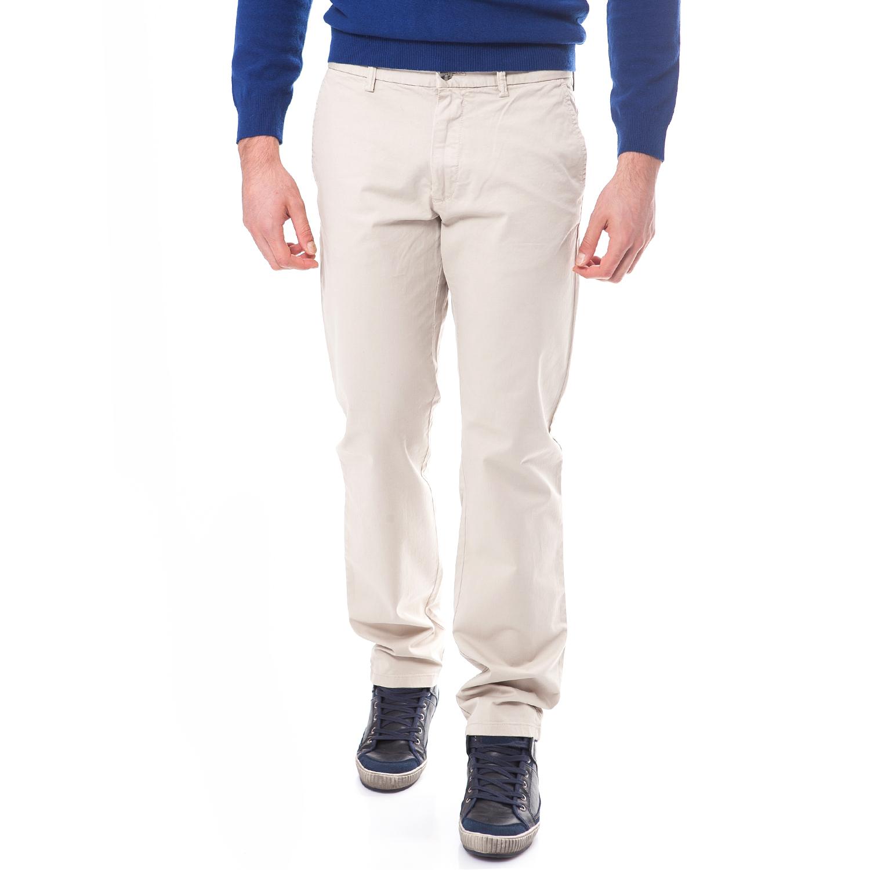 GANT - Ανδρικό παντελόνι Gant ημίλευκο ανδρικά ρούχα παντελόνια chinos