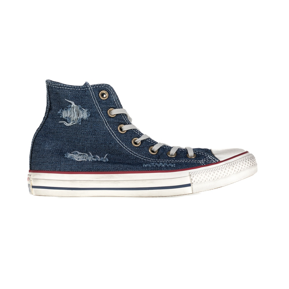 CONVERSE – Unisex μποτάκια CT AS Hi Denim Destroyed μπλε
