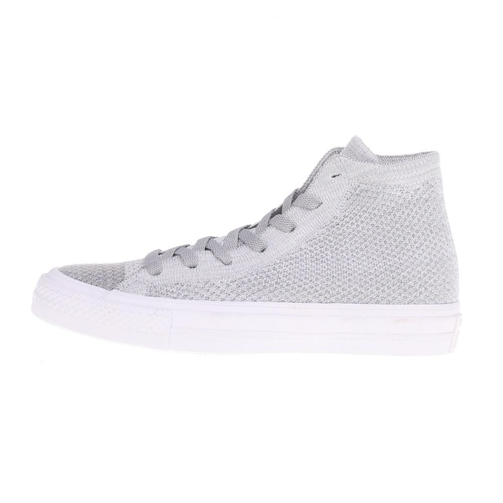 CONVERSE – Unisex sneakers CTAS FLYKNIT HI γκρι