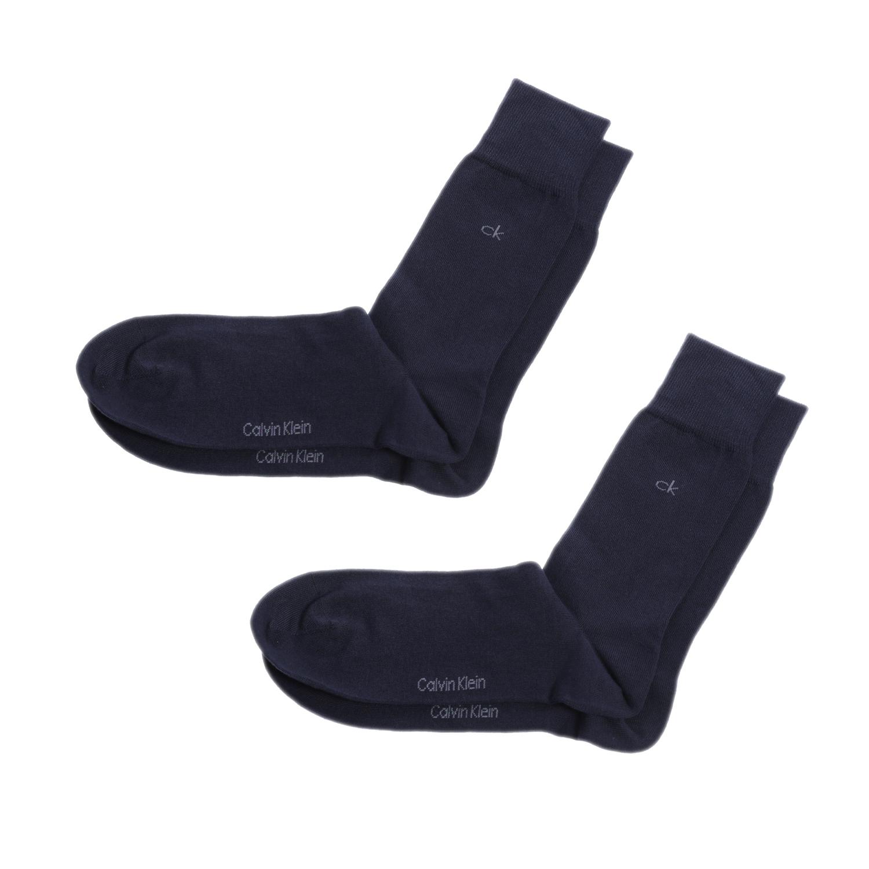 CK UNDERWEAR - Ανδρικό σετ κάλτσες Calvin Klein μπλε ανδρικά αξεσουάρ κάλτσες