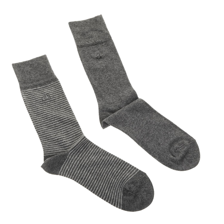 CK UNDERWEAR - Ανδρικό σετ κάλτσες Calvin Klein γκρι ανδρικά αξεσουάρ κάλτσες