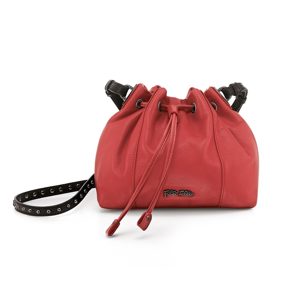 c4982c3a8c1 FOLLI FOLLIE – Γυναικεία τσάντα πουγκί FOLLI FOLLIE κόκκινη