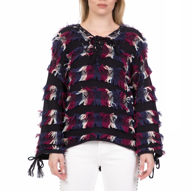 JUICY COUTURE - Γυναικείο πουλόβερ JUICY COUTURE πολύχρωμο