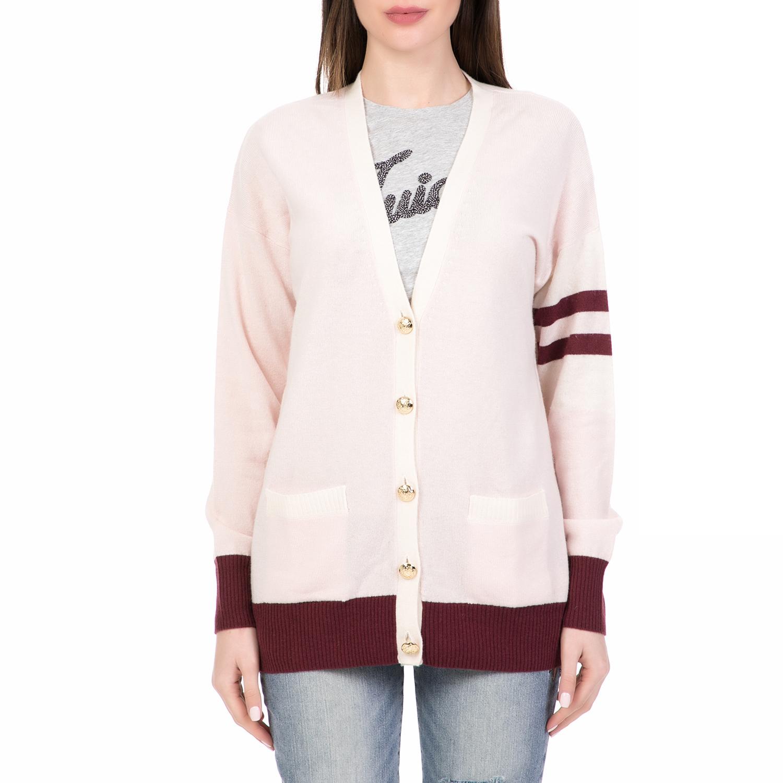 de6a9d9741b5 JUICY COUTURE - Γυναικεία ζακέτα COLLEGIATE CASHMERE JUICY COUTURE ροζ